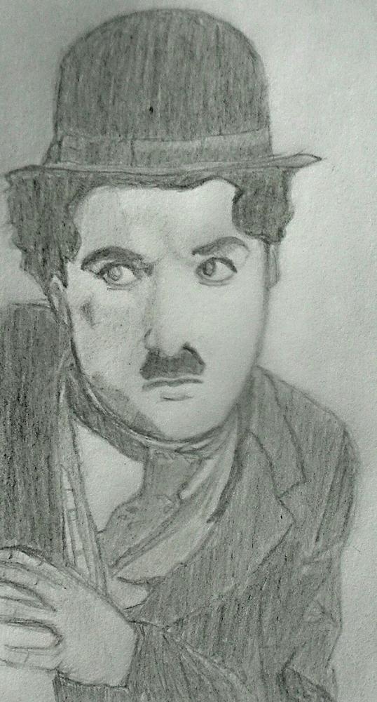 Charlie Chaplin par okass